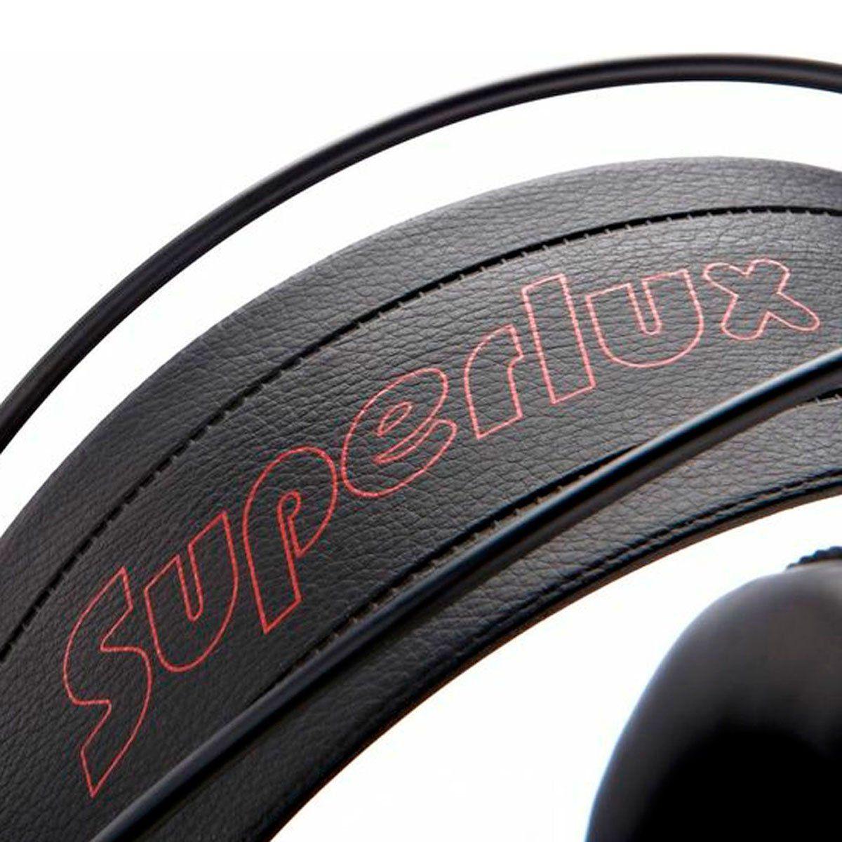 Fone de Ouvido Over-ear 10 Hz - 30 KHz 32 Ohms HD 681 - Superlux