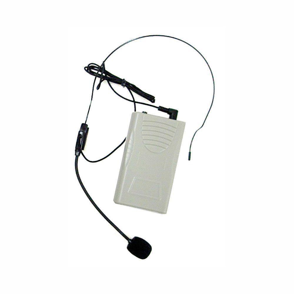 Kit Professor Portátil (Caixa 50W + Microfone s/ Fio VHF) c/ USB/FM - T 221 USB CSR