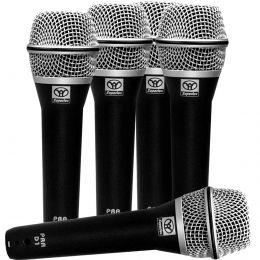 Microfone c/ Fio de Mão Dinâmico (5 Unidades) - PRA D 5 Superlux