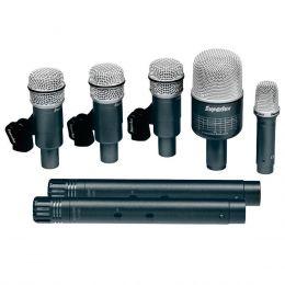 Microfone c/ Fio p/ Instrumentos (7 Unidades) - DRK B 5 C 2 Superlux