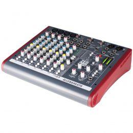Mesa de Som 6 Canais Balanceados (4 XLR + 2 P10) c/ USB / Efeito / Phantom / 2 Auxiliares ZED 10 FX - Allen Heath