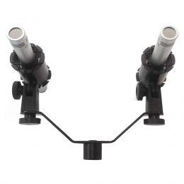 Microfone c/ Fio Condensador (Par) SMK H 8 K - Superlux