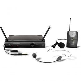 Microfone sem Fio Headset / Lapela / Instrumento / UHF UH 01 HLI Lyco