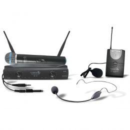 Microfone sem Fio de Mão / Headset / Lapela e Instrumento UH 02 MHLI Lyco