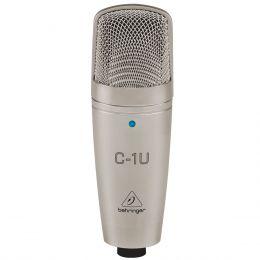 Microfone c/ Fio USB Condensador - C 1U Behringer