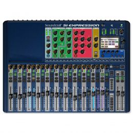 Mesa de Som / Mixer Digital 24 Canais 14 Auxiliares Si Expression 2 - Soundcraft