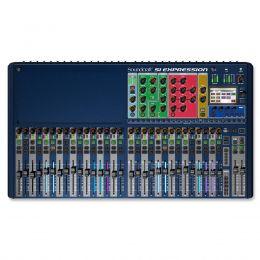 Mesa de Som 32 Canais XLR Balanceados c/ USB / MIDI / Efeito / Phantom / 14 Auxiliares Si Expression 3 - Soundcraft
