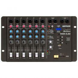 Mesa de Som 6 Canais P10 Desbalanceados c/ USB Play / 1 Auxiliar MXM 6 SD - Ciclotron