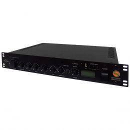 Pré Amplificador Integrado c/ Amplificador de Linha 70.7V 400W - SPL 400 Sansara