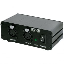 Phantom Power 2 Canais p/ Microfone - PH 4 CSR