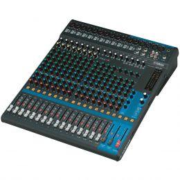Mesa de Som 20 Canais (16 XLR Balanceados + 2 P10 Desbalanceados + 2 RCA) c/ Phantom / 4 Auxiliares - MG 20 Yamaha