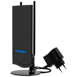 Antena Interna p/ TV VHF / FM / UHF / HDTV - DTV 4600 Aquário