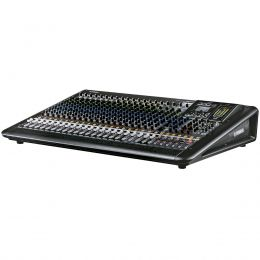 Mesa de Som 24 Canais (16 XLR + 4 P10 Balanceados + 4 RCA) c/ USB / Efeito / Phantom / 4 Auxiliares - MGP 24 X Yamaha