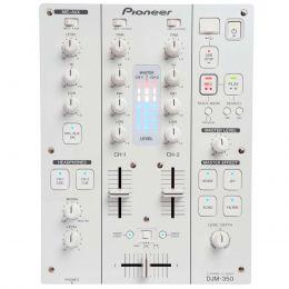 Mixer DJ 2 Canais c/ USB DJM350 Branco - Pioneer