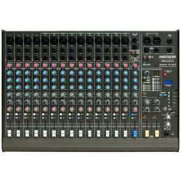 Mesa de Som 16 Canais Balanceados (14 XLR + 2 P10) c/ USB Play / Efeito / Phantom / 2 Auxiliares - AMBW 16 XDF Ciclotron