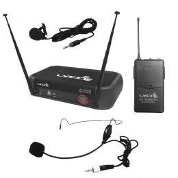 Microfone s/ Fio Headset / Lapela / VHF - VH 102 PRO HL Lyco