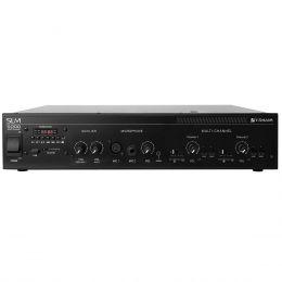 Amplificador Som Ambiente 600W até 80 Caixas c/ USB - SLIM 5000 Frahm