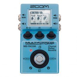 Pedal Multiefeito p/ Guitarra 86 Efeitos - MS 70 CDR Zoom
