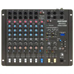 Mesa de Som 8 Canais c/ USB / Efeito / 2 Auxiliares AMW 8 ESD Ciclotron