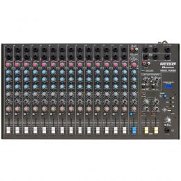 Mesa de Som 16 Canais (14 P10 Desbalanceados + RCA) c/ USB Play / Efeito / 2 Auxiliares - AMW 16 ESD Ciclotron