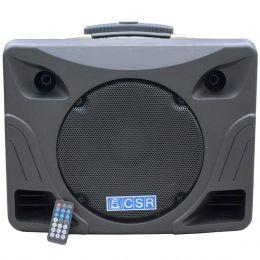 Caixa Amplificada Multiuso CSR MT 12 A 100W 12? Polegadas  c/ USB e Bluetooth