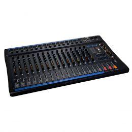 Mesa de Som 16 Canais XLR Balanceados c/ USB / Efeito / Phantom / 1 Auxiliar - OMX 1600 Oneal