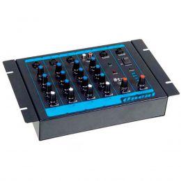 Mesa de Som 4 Canais (3 P10 Balanceados + RCA) - OMX 4 Oneal
