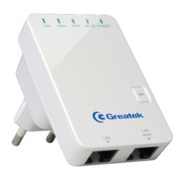 Repetidor WiFi 300Mbps - WR 3300 N Greatek