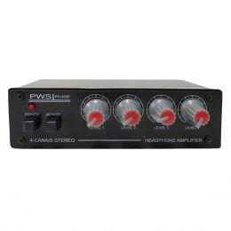 Amplificador p/ Fone de Ouvido 4 Canais - PH 4000 PWS