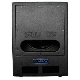 Subwoofer Ativo Fal 15 Pol 1000W - SW 15 SoundBox