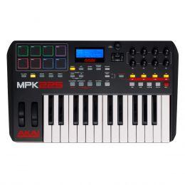Teclado Controlador MIDI / USB MPK 225 - AKAI