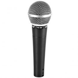 Microfone c/ Fio de Mão Dinâmico - 58 TSI