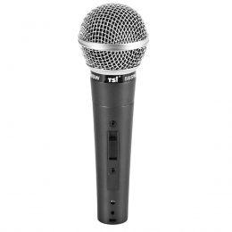 Microfone c/ Fio de Mão Dinâmico - 58 SW TSI