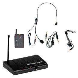Microfone s/ Fio Headset / Lapela / UHF - MS 115 CLI TSI