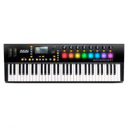 Teclado Controlador MIDI / USB Advance 61 - AKAI