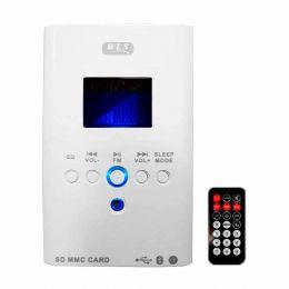 Amplificador Som Ambiente 30W 8 Ohms c/ USB / Bluetooth - Multimídia Wall Player WLS 110V