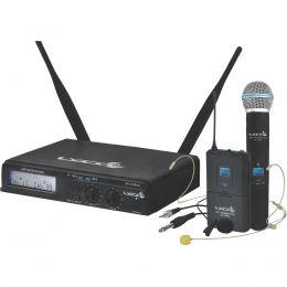Microfone s/ Fio Headset / Instrumento / Lapela / Mão - UHX PRO 02 MHLI Lyco