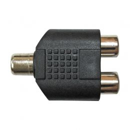 Adaptador Wireconex RCA F / 2x RCA F WC 2057 AD