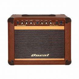 Cubo Ativo p/ Guitarra Fal 8 Pol 30W c/ Pedal - OCG 100 F Oneal
