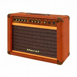 Cubo Ativo p/ Guitarra Fal 10 Pol 60W c/ Pedal - OCG 200 Oneal