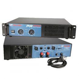 Amplificador de Potência SomPlus 2 Canais 600W 4/8 Ohms SPPA1200