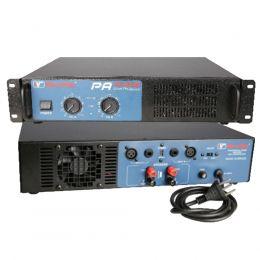 Amplificador de Potência SomPlus 2 Canais 800W 4/8 Ohms SPPA1600