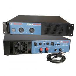 Amplificador de Potência SomPlus 2 Canais 1200W 4/8 Ohms SPPA2400