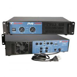 Amplificador de Potência SomPlus 2 Canais 300W 4/8 Ohms SPPA600