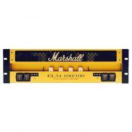 Amplificador em rack para guitarra 100+100 100W EL34 100/100 - Marshall