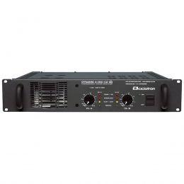 Amplificador de Potência 1000W RMS 2 Ohms - Dynamic 4000 AB Ciclotron