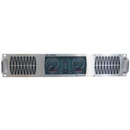 Amplificador Estéreo 2 Canais 2000W PP 2004 - Attack