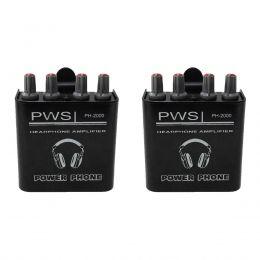 KIT Amplificador de Fone de Ouvido PH-2000 2W 2 Canais PWS (2 UND)