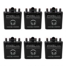 KIT Amplificador de Fone de Ouvido PH-2000 2W 2 Canais PWS (6 UND)
