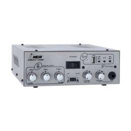Amplificador para Som Ambiente 25W 4Ohms NCA AB100 12V USB